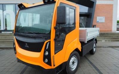 První český komunální elektromobil se představil ve Zlíně