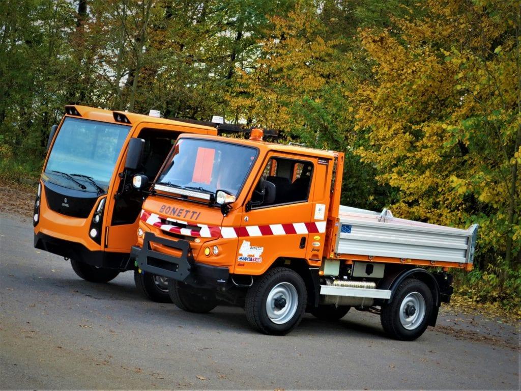 Komunální automobil Enviel na testování v Ostravě